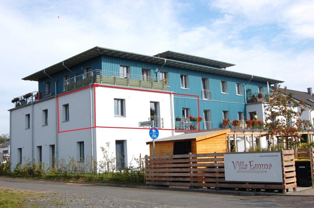 2-Raum Wohnung in der Villa Emma eG zum 1.02.2022 frei